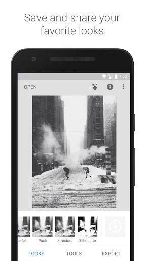 تطبيق Snapseed لتصميم الصور وتعديلها يحصل على واجهة جديدة