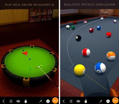 لعبة Pool Break 3D لمحبي البيلياردو