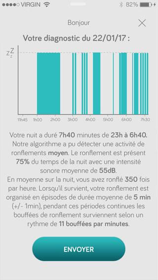 تطبيق Ronflomètre لمتابعة حالة نومك