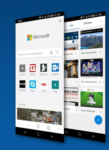 متصفح Microsoft Edge لأجهزة الأندرويد متوفر الآن على متجر جوجل بلاي!