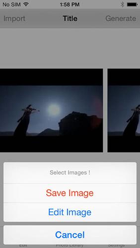تطبيق تحويل الفيديو إلى صور