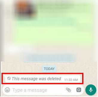 أندرويد : كيفية حذف رسالة واتس آب بعد إرسالها (3)