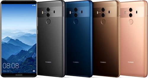 مميزات سلسلة Huawei Mate 10 : التصميم