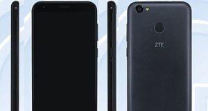 رصد هاتف ZTE مع بطارية سعة 5000 ميلي أمبير ومزايا جيدة