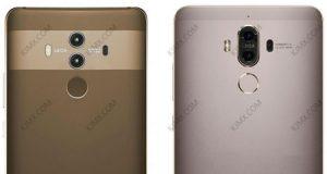 مقارنة تصميم هاتف Huawei Mate 10 مع Mate 9، ما رأيكم ؟
