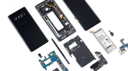هل من الصعب إصلاح هاتف سامسونج جالكسي نوت 8 ؟
