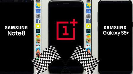 Photo of فيديو – تحدي السرعة بين جالكسي نوت 8 جاكسي S8 بلس ضد OnePlus 5 !