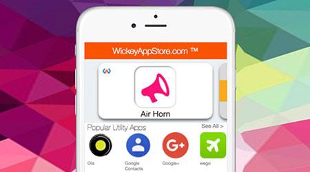متجر تطبيقات Wickey الرائع - لا حاجة إلى تحميل التطبيقات بعد اليوم !