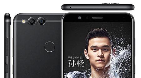 صورة هواوي تكشف رسميا عن هاتف Honor 7X بشاشة كاملة