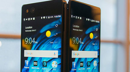 الإعلان رسمياً عن هاتف ZTE Axon M القابل للطي!