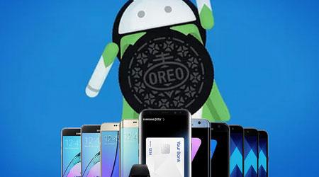هواتف سامسونج التي ستحصل على تحديث اندرويد 8 Oreo !