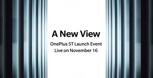 الإعلان عن هاتف OnePlus 5T سيكون قريبا جدا !