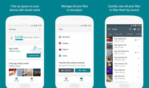 تطبيق Files Go الجديد من جوجل لإدارة الملفات في الأندرويد