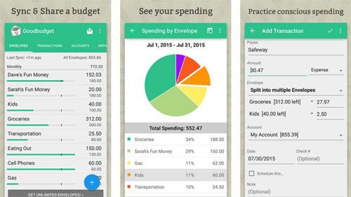تطبيق Goodbudget لإدارة مصاريفك اليومية