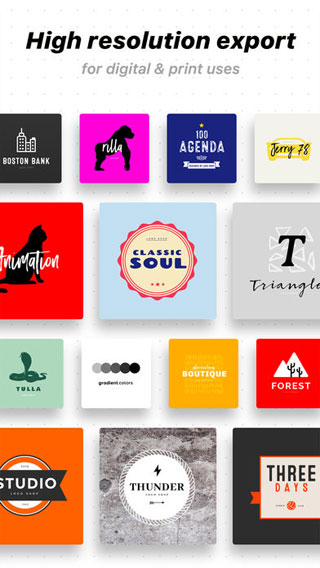 تطبيق Logo Maker لتصميم الشعارات بمزايا احترافية !