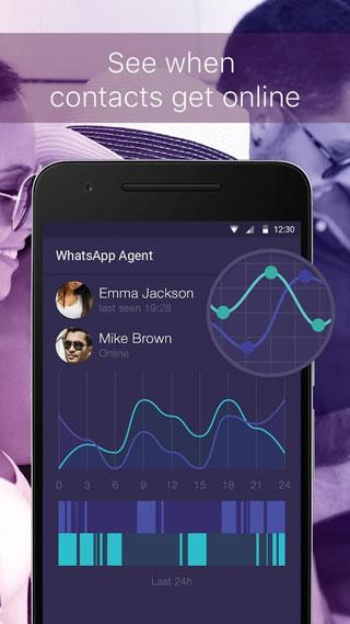 تطبيق WhaTrack - لمتابعة ومعرفة إحصائيات دقيقة حول حسابات واتس آب