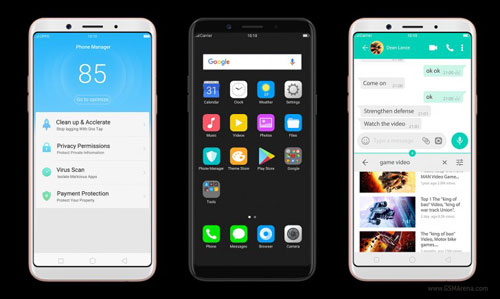 شركة Oppo تعلن أيضا عن هاتف F5 Youth بشاشة كاملة !