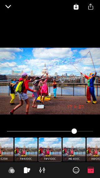 تطبيق TocTak Camera للتصوير بأفضل الفلاتر الاحترافية