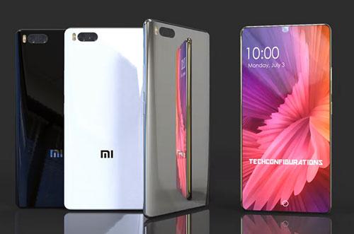 تسريب - هاتف Xiaomi Mi 7 سيحمل شاشة كاملة وكاميرا مزدوجة !