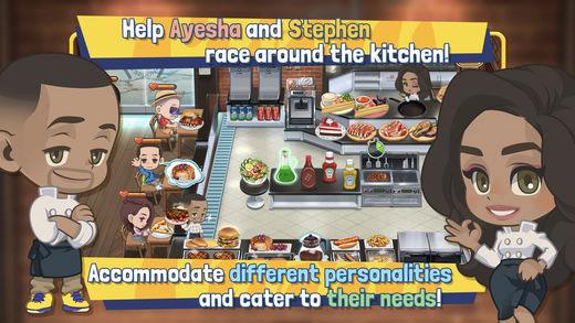 لعبة Chef Curry ft. Steph & Ayesha لمحبي الطبخ