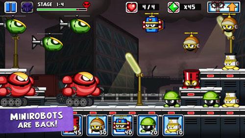 لعبة Tiny Defense 2 لخوض حروب الروبوتات