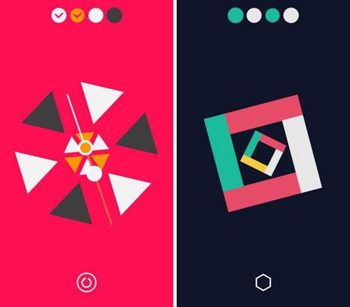 لعبة Linia لمحبي ألغاز الأشكال والألوان