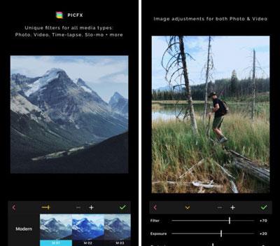 تطبيق Picfx لتحرير صورك باحترافية