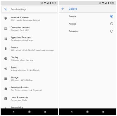 تحديثات جوجل بهاتف بيكسل 2