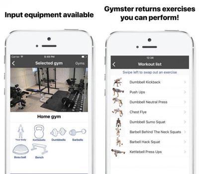 تطبيق Gymster+ Workouts مدربك لبناء جسم رياضي