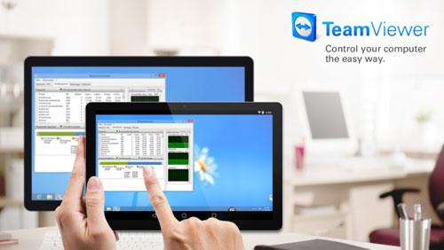 تطبيق TeamViewer للتحكم في الأجهزة عن بعد