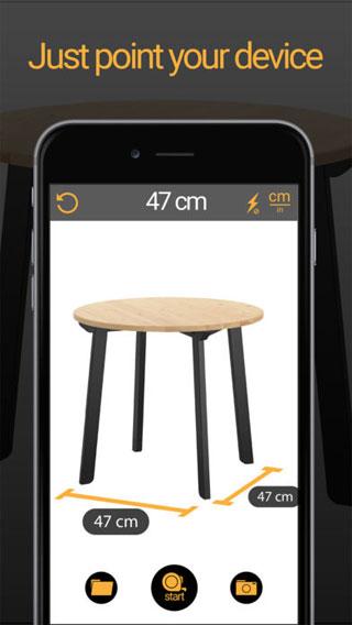 تطبيق Tape Measure AR! لتحويل الأيفون إلى أداة قياس احترافية !