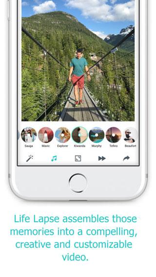 تطبيق Life Lapse لتسجيل أفضل اللحظات