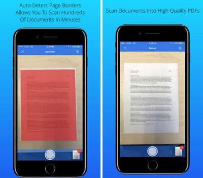 تطبيق Scan My Document لتحويل الأيفون إلى ماسح ضوئي