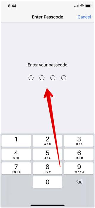 شرح كيفية شراء التطبيقات باستخدام Face ID