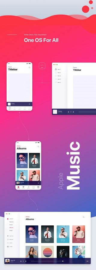 تصميم تخيلي - نظرة مستقبلية لنظام macOS بنكهة iOS، ما رأيكم ؟