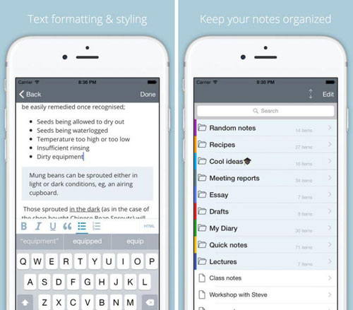 تطبيق Notas لتسجيل ملاحظاتك بطريقة منظمة
