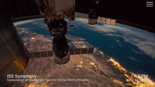 تطبيق Outland لمشاهدة الأرض من الفضاء