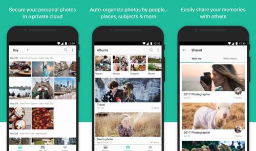 تطبيق Synology Moments لتنظيم صورك في ألبومات ذكية
