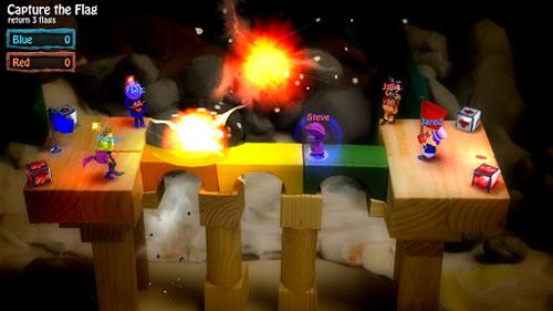لعبة BombSquad كثير من التسلية مع شخصيات مميزة