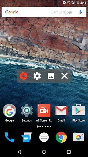 تطبيق AZ Screen Recorder لتسجيل فيديو لشاشة الهاتف