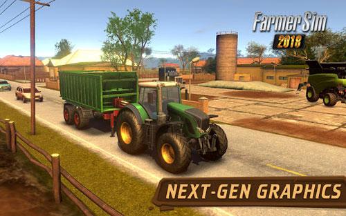 تطبيق Farmer Sim 2018 لمحبي حياة الفلاحة والريف