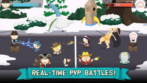 لعبة South Park: Phone Destroyer™ مع كثير من التحديات