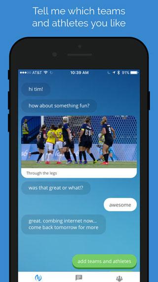 تطبيق Avid Sports Chat لمتابعة جديد الرياضات