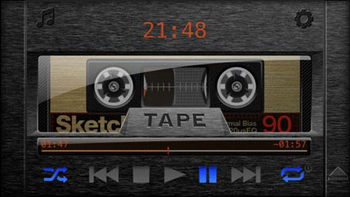تطبيق Tape لتشغيل الصوتيات على شكل كاسيت