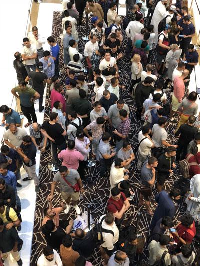 طوابير في دبي