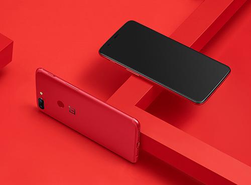 الكشف عن النسخة الحمراء من هاتف OnePlus 5T !
