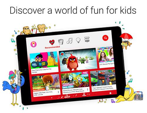تطبيق Youtube Kids : تطبيق اليوتيوب المخصص للأطفال الصغار !