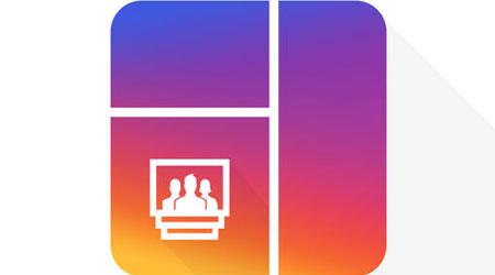 تطبيق Grid Post Maker لتجميع صور انستغرام مرة واحدة !