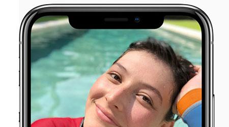 نظرة على الكاميرا الأمامية المميزة في آيفون X !