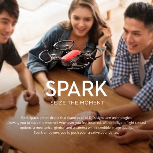طائرة DJI Spark للتصوير بأفضل جودة وبأحسن المزايا !